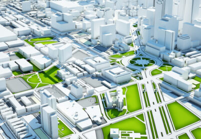 Three-dimensional modeling of built-up areas